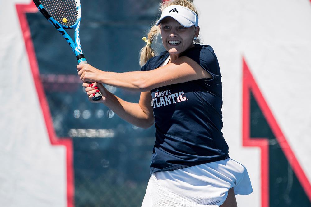 2018 FAU Women's Tennis vs Texas - El Paso