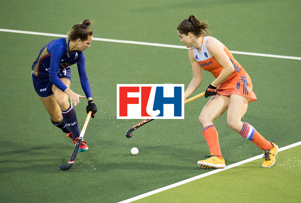 AUCKLAND - Sentinel Hockey World League final women<br /> Match id 10296<br /> 06 Usa v Netherlands<br /> Foto: Marloes Keetels (C)<br /> WORLDSPORTPICS COPYRIGHT FRANK UIJLENBROEK