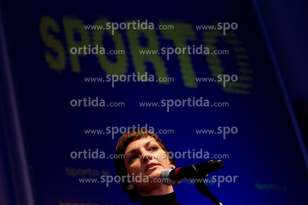 Maja Makovec Brencic during Sporto 2011Gala Dinner and Awards ceremony at Sports marketing and sponsorship conference Sporto 2011, on November 21, 2011 in Hotel Slovenija, Portoroz / Portorose, Slovenia. (Photo By Vid Ponikvar / Sportida.com)