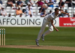 May 4, 2018 - Chelmsford, Greater London, United Kingdom - Yorkshire's Ben Coad .during Specsavers County Championship - Division One, day one match between Essex CCC and Yorkshire CCC at The Cloudfm County Ground, Chelmsford, England on 04 May 2018. (Credit Image: © Kieran Galvin/NurPhoto via ZUMA Press)