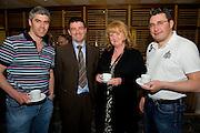 Dr. Sean Moffatt, Ballina, Dr. Ronan Kavanagh, Dr. Maura Irwin, Ballina, Dr. Keith Swanick, Belmullet at Rheumatology Toolbox : Rheumatology for General Practice Conference at the Radisson Blu Hotel , Galway. Photo:Andrew Downes