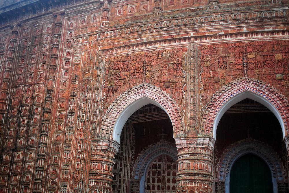 Kantanagar hindu temple ( 18th century ) Dinajpur District, Bangladesh // temple de Kantanagar, ( 18eme siecle), Region de Dinajpur, Bangladesh