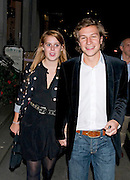 19.AUGUST.2008. LONDON<br /> <br /> PRINCESS BEATRICE AND DAVE CLARK AT THE DQ VODKA LAUNCH PARTY AT ALMADA, IN LONDON.<br /> <br /> BYLINE: EDBIMAGEARCHIVE.COM<br /> <br /> *THIS IMAGE IS STRICTLY FOR UK NEWSPAPERS AND MAGAZINES ONLY*<br /> *FOR WORLD WIDE SALES AND WEB USE PLEASE CONTACT EDBIMAGEARCHIVE - 0208 954 5968*