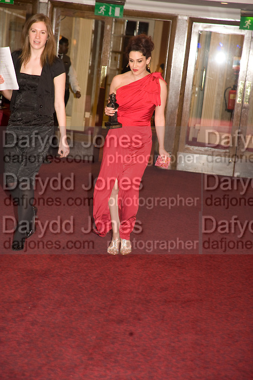 Lesli Margherita, The Laurence Olivier Awards, The Grosvenor House Hotel. Park Lane. London. 8 March 2009 *** Local Caption *** -DO NOT ARCHIVE -Copyright Photograph by Dafydd Jones. 248 Clapham Rd. London SW9 0PZ. Tel 0207 820 0771. www.dafjones.com<br /> Lesli Margherita, The Laurence Olivier Awards, The Grosvenor House Hotel. Park Lane. London. 8 March 2009