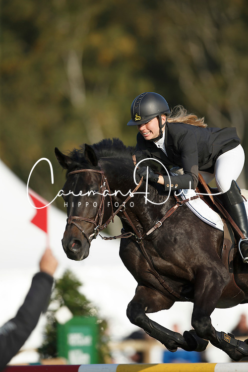 Noterman Ashley, (BEL), Gentro L<br /> Springen Midden<br /> Nationaal Kampioenschap LRV - Waasmunster 2015 <br /> &copy; Hippo Foto - Dirk Caremans<br /> 04/10/15