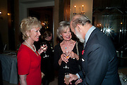 ELIZABETH AITKEN; LADY RAYNE; PRINCE MICHAEL OF KEN, Book launch of Lady Annabel Goldsmith's third book, No Invitation Required. Claridges's. London. 11 November 2009