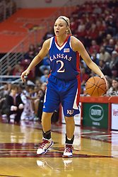 25 March 2010: Kelly Kohn. The Redbirds of Illinois State crush the Jayhawks of Kansas 71-51 during the 3rd round of the 2010 Women's National Invitational Tournament (WNIT) on Doug Collins Court inside Redbird Arena at Normal Illinois.