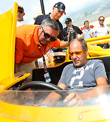 17.07.2010, Groebming, AUT, Ennstal Classic, Chopard Grand Prix Groebming, im Bild Gerhard Berger im Porsche 917/10 TC Bj. 1972, EXPA Pictures © 2010, PhotoCredit: EXPA/ J. Groder / SPORTIDA PHOTO AGENCY