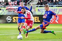 UTRECHT - FC Utrecht - Feyenoord , Voetbal , Seizoen 2015/2016 , Eredivisie , Stadion de Galgenwaard  , 28-02-2016,