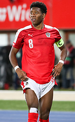 24.03.2017, Ernst Happel Stadion, Wien, AUT, FIFA WM 2018 Qualifikation, Oesterreich vs Moldawien, Gruppe D, im Bild David Alaba (AUT) // during the FIFA World Cup 2018, group D qualifying match between Austria and Moldova at the Ernst Happel Stadion in Wien, Austria on 2017/03/24. EXPA Pictures © 2017, PhotoCredit: EXPA/ Alexander Forst