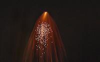 Firework Art.  ©2015 Karen Bobotas Photographer