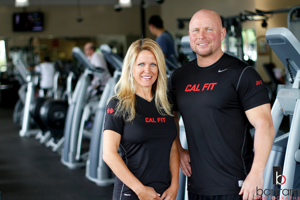 Jennifer and Ken Challberg, owners of California Fitness 24/7 at 2515 Main Street in Oakley, are pictured at their business on Monday, June 6, 2011. (Photo by Kevin Bartram)