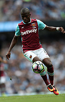 Football - Enner Valencia of West Ham United during the match at the Etihad Stadium between Manchester City and West Ham United. <br /> <br /> 2016 / 2017 Premier League - Manchester City vs. West Ham United<br /> <br /> -- at The Etihad Stadium.<br /> <br /> COLORSPORT/LYNNE CAMERON