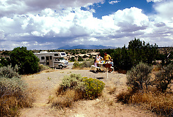 Utah: RV Camping, travel, family vacation, scenic horizontal landscape.  .Photo copyright Lee Foster, www.fostertravel.com..Photo #: rvutah102, 510/549-2202, lee@fostertravel.com