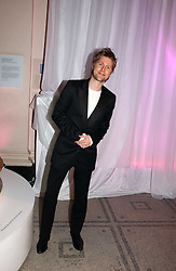 CHRISTOPHER BAILEY at the British Fashion Awards 2006 sponsored by Swarovski held at the V&A Museum, Cromwell Road, London SW7 on 2nd November 2006.<br />