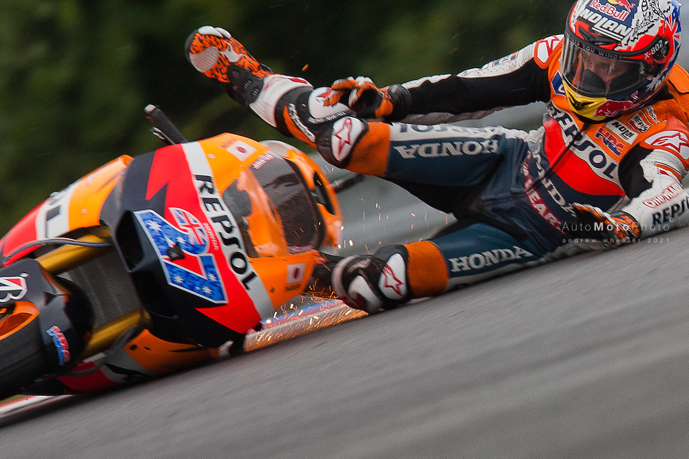 2011 MotoGP World Championship, Round 11, Brno, Czech Republic, 14 August 2011, Casey Stoner