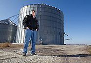 Corn Storage - Monmouth, Illinois - February 17, 2012