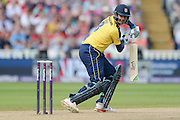Owais Shah during the NatWest T20 Blast Semi Final match between Hampshire County Cricket Club and Lancashire County Cricket Club at Edgbaston, Birmingham, United Kingdom on 29 August 2015. Photo by David Vokes.