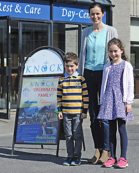 &lsquo;Celebrating Family day held Knock Shrine, Co Mayo recently.<br /> Pic Conor McKeown