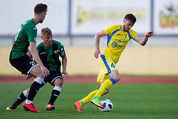 Amadej Vetrih of NK Domzale during football match between NK Domzale and NK Rudar in Round #28 of Prva liga Telekom Slovenije 2017/18, on April 22, 2018 in Sports Park Domzale, Domzale, Slovenia. Photo by Urban Urbanc / Sportida