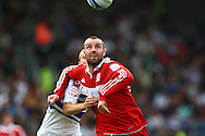 Loftus Road, London - Saturday 11th September 2010:  Kris Boyd (9) of Middlesborough on the ball during the Npower Championship match between Queens Park Rangers and Middlesborough. (Photo by Andrew Tobin/Focus Images)