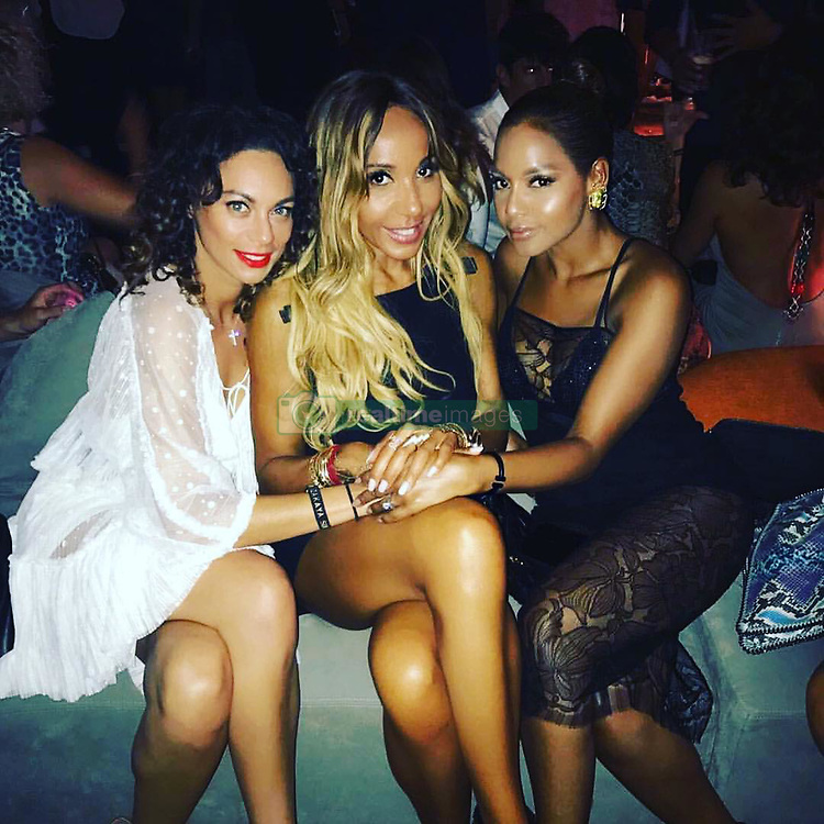 "Sharlely Becker releases a photo on Instagram with the following caption: ""#izakaya #ibiza @cathyguetta @winonahdejong only the cool girls can sit with us \u2665\ufe0f\u2665\ufe0f\u2665\ufe0f\u2665\ufe0f"". Photo Credit: Instagram *** No USA Distribution *** For Editorial Use Only *** Not to be Published in Books or Photo Books ***  Please note: Fees charged by the agency are for the agency's services only, and do not, nor are they intended to, convey to the user any ownership of Copyright or License in the material. The agency does not claim any ownership including but not limited to Copyright or License in the attached material. By publishing this material you expressly agree to indemnify and to hold the agency and its directors, shareholders and employees harmless from any loss, claims, damages, demands, expenses (including legal fees), or any causes of action or allegation against the agency arising out of or connected in any way with publication of the material."