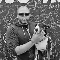 The first of many cool Dogs and their cool humans I met at Barkfest 2016 at Pier 97 in NYC
