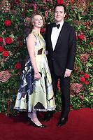 George Osborne, Frances Osborne, 64th Evening Standard Theatre Awards, Theatre Royal Drury Lane, London UK, 18 November 2018, Photo by Richard Goldschmidt