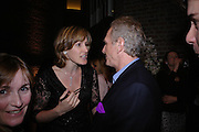 Santa Montefiore and  Mark Shand. Book party for LAST VOYAGE OF THE VALENTINA by Santa Montefiore (Hodder & Stoughton) Asprey,  New Bond St. 12 April 2005. ONE TIME USE ONLY - DO NOT ARCHIVE  © Copyright Photograph by Dafydd Jones 66 Stockwell Park Rd. London SW9 0DA Tel 020 7733 0108 www.dafjones.com