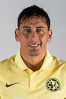 """Mexico League - BBVA Bancomer MX 2014-2015 -<br /> Aguilas - Club de Futbol America / Mexico - <br /> Rubens Oscar Sambueza """" Rubens Sambueza """""""