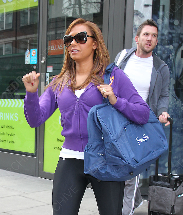 13.MARCH.2012. LONDON<br /> <br /> **EXCLUSIVE PICTURES** <br /> <br /> MEL B LEAVING THE FITNESS FIRST EXERCISE GYM IN LONDON<br /> <br /> BYLINE: EDBIMAGEARCHIVE.COM<br /> <br /> *THIS IMAGE IS STRICTLY FOR UK NEWSPAPERS AND MAGAZINES ONLY*<br /> *FOR WORLD WIDE SALES AND WEB USE PLEASE CONTACT EDBIMAGEARCHIVE - 0208 954 5968*