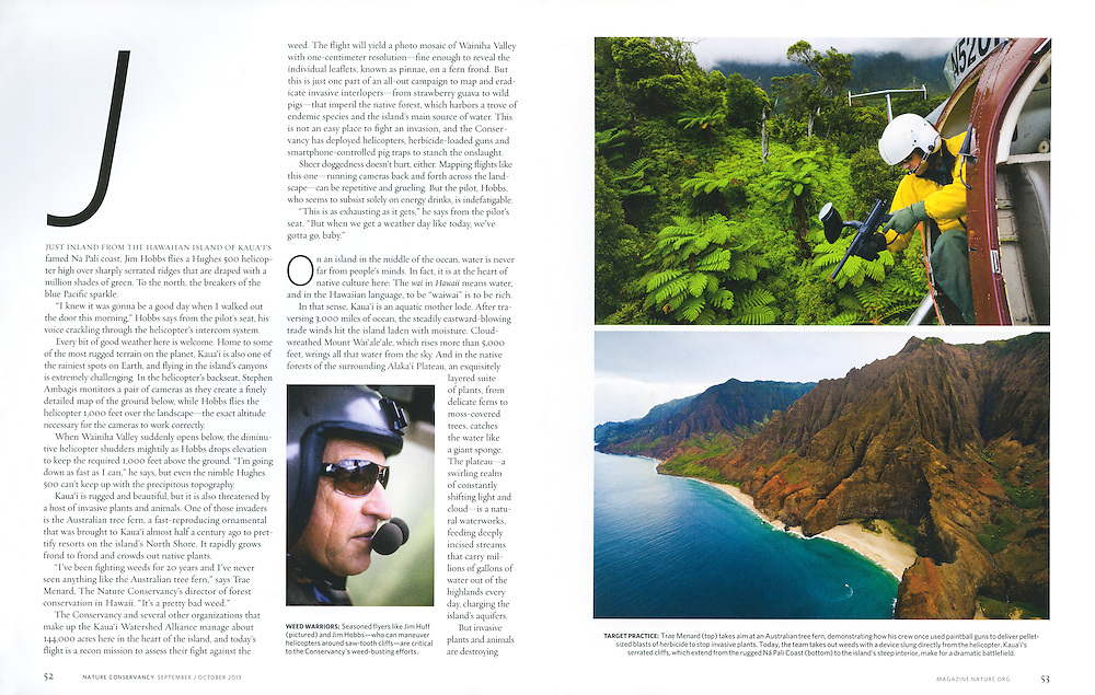 Nature Conservancy: Pacific Invasion (September/October 2013)