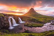 Taken in west-Iceland in Grundarfjordur Kirkjufell