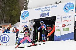 KUBACKA Marek Guide: ZATOVICOVA Maria, B1, SVK at 2018 World Para Alpine Skiing Cup, Kranjska Gora, Slovenia