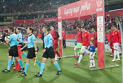 October 11, 2018 - Chorzow, Poland - Robert Lewandowski (POL) during the UEFA Nations League A group three match between Poland and Portugal at Silesian Stadium on October 11, 2018 in Chorzow, Poland. (Credit Image: © Foto Olimpik/NurPhoto via ZUMA Press)
