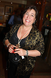 ANNIE FOSTER-FIRTH  at a pre-screening party of a film by Fiona Sanderson entitled 'The Hunt For Lord Lucan' held at Langans, 254 Old Brompton Road, London SW7 on 8th November 2004.<br /><br />NON EXCLUSIVE - WORLD RIGHTS