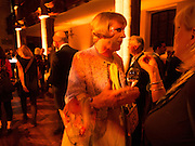 GRAYSON PERRY, Victoria Miro hosts Supper to celebrate Frieze and Frieze Masters . One Mayfair, London. 17 October 2013