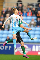 BEN STEVENSON COVENTRY CITY, Coventry City v Scunthorpe United, EFL, Sky Bet League One Ricoh Arena, Saturday 12th November 2016<br /> Photo:Mike Capps