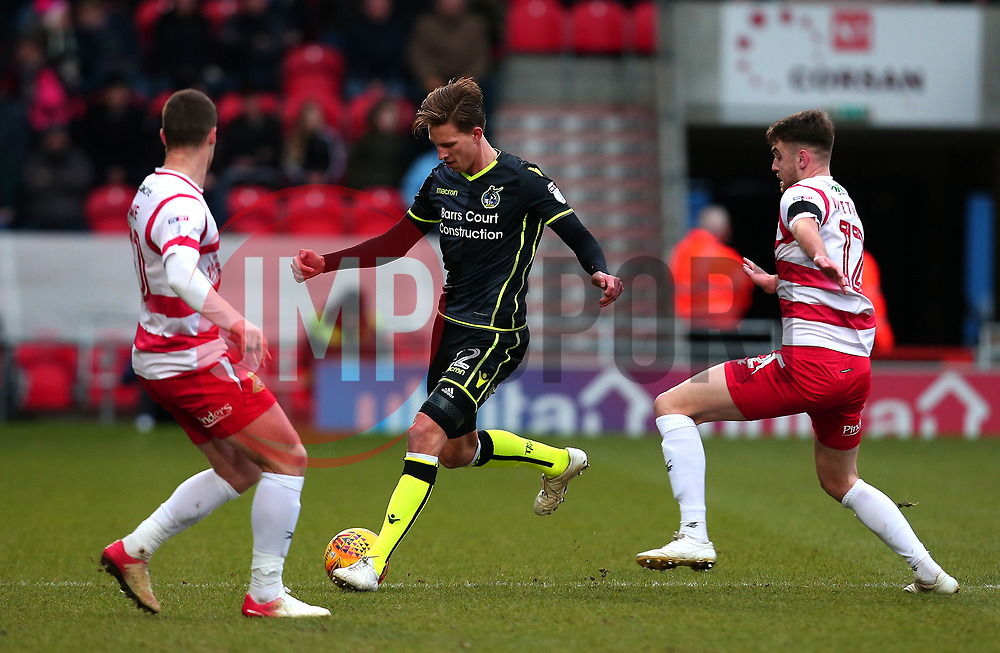 Joe Partington of Bristol Rovers - Mandatory by-line: Robbie Stephenson/JMP - 27/01/2018 - FOOTBALL - The Keepmoat Stadium - Doncaster, England - Doncaster Rovers v Bristol Rovers - Sky Bet League One