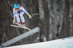 10.02.2014, Rosa Khutor Alpine Center, Krasnaya Polyana, RUS, Sochi 2014, Super-Kombination, Damen, Abfahrt, im Bild Michaela Kirchgasser (AUT) // Michaela Kirchgasser of Austria during the Downhill of the Women's Super Combined of the Olympic Winter Games 'Sochi 2014' at the Rosa Khutor Alpine Center in Krasnaya Polyana, Russia on 2014/02/10. EXPA Pictures © 2014, PhotoCredit: EXPA/ Johann Groder