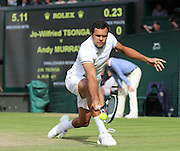 WIMBLEDON - GB -  6th July 2016: The Wimbledon Tennis Championship at the All England Lawn Tennis Club in S.E. London.<br /> <br /> Andy Murray vs Jo-Wilfried TSONGA<br /> <br /> Photo by Ian Jones