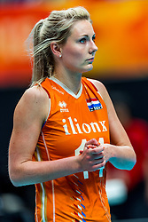 19-10-2018 JPN: Semi Final World Championship Volleyball Women day 18, Yokohama<br /> Serbia - Netherlands / Laura Dijkema #14 of Netherlands