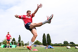 Tiff Eden in action as Bristol Bears train and prepare for the 2018/19 Gallagher Premiership Rugby Season - Mandatory by-line: Robbie Stephenson/JMP - 16/07/2018 - RUGBY - Clifton Rugby Club - Bristol, England - Bristol Bears Training
