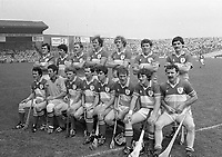 Offaly Senior Hurling Team at Croke Park, Dublin, 10/07/1983 (Part of the Independent Newspapers Ireland/NLI Collection).