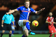 Callum Camps during the EFL Sky Bet League 1 match between Rochdale and Walsall at Spotland, Rochdale, England on 22 November 2016. Photo by Daniel Youngs.