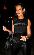 08.JANUARY.2008. LONDON<br /> <br /> JASMINE LENNARD ARRIVING AT NOBU BERKLEY WEARING A T-SHIRT THAT SAYS 'MY BOSS THINKS I HAVE THE X-FACTOR' AND ON THE BACK IT SAYS 'MISS LENNARD'<br /> <br /> BYLINE: EDBIMAGEARCHIVE.CO.UK<br /> <br /> *THIS IMAGE IS STRICTLY FOR UK NEWSPAPERS AND MAGAZINES ONLY*<br /> *FOR WORLD WIDE SALES AND WEB USE PLEASE CONTACT EDBIMAGEARCHIVE - 0208 954 5968*