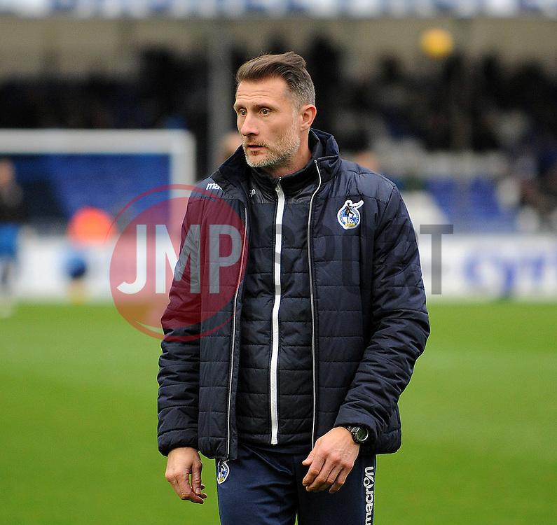 Chris Hargreaves, U21 coach  - Mandatory by-line: Neil Brookman/JMP - 25/02/2017 - FOOTBALL - Memorial Stadium - Bristol, England - Bristol Rovers v Scunthorpe United - Sky Bet League One