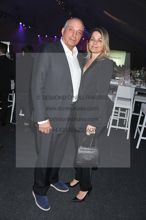 DAVID REUBEN and DEBRA REUBEN at Gabrielle's Gala an annual fundraising evening in aid of Gabrielle's Angel Foundation for Cancer Research held at Battersea Power Station, London on 2nd May 2013.
