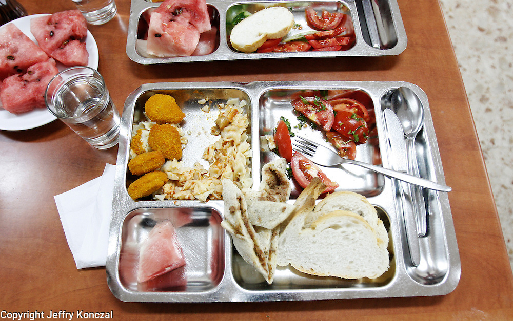 A lunch at a school in Ankara, Turkey.