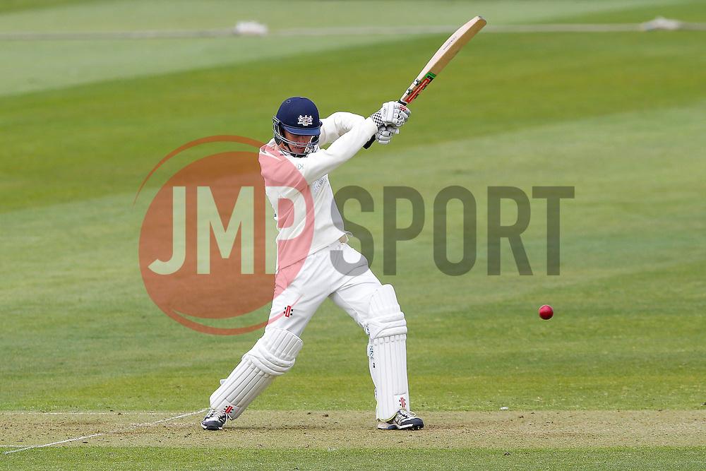 Gareth Roderick of Gloucestershire bats - Photo mandatory by-line: Rogan Thomson/JMP - 07966 386802 - 26/04/2015 - SPORT - CRICKET - Bristol, England - Bristol County Ground - Gloucestershire v Derbyshire — Day 1 - LV= County Championship Division Two.